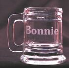 Personalized Mug Shot Glass Engraved with Free name 16 different font choices