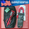 Mastech MS2008A Mini Digital Clamp Meter Blue Backlight Datahold Auto Power Off