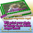 I print your photo Cake or Cupcakes Topper image SHEET picture edible custom
