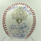 New York Mets Team Signed Autographed Official 2015 World Series Baseball PSA