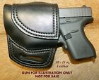 Gary Cs Avenger OWB XH Left Hand HOLSTER for Glock G42 with CT Laser  Leather