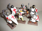on foot KNIGHTS Argentina DSG Medieval Plastic Toy Soldiers set Britains
