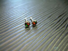 One Piece 20g 1 4 925 Silver 3MM Cherry Nose Pin Stud Ring Bone 157