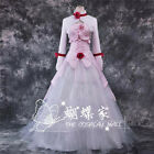 Code Geass Euphemia li Britannia Cosplay Costume Whirt and Pinck Dress Coat