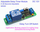 Dc 5v 12v Adjutable Delay Timer Time Relay Switch Turn Onoff Module 0-25 Second