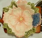 ~Beautiful Fitz and Floyd floral Bowl~Fauna flora collection~ Beautiful..