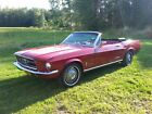 Ford Mustang 1967 mustang convertible complete restoration