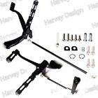 Gloss Black Forward Controls Pegs Levers Linkages For Harley Sportster XL 06 13