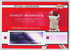 RYAN HOWARD - 2009 Finest AUTO RED REFRACTOR # 25 Rare Parallel Autograph PHILS