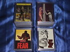 THE WALKING DEAD Set 2 Comic PARALLEL & CHASE Card Sets, Box & Wapper's NEGAN