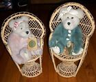 GWENNORE JOINTED PLUSH RATTAN CHAIRS DISPLAY