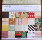 Crate Paper DIY Shop 12x12 Paper Pad Scrapbook Card stock