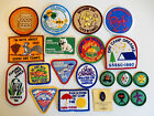 Vintage 20 Girl Scout patches badges pin lot 1980 s 1999