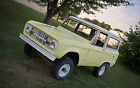 Ford Bronco Base 66 ford early bronco uncut springtime yellow upgraded for reliability safety