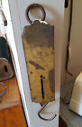 Antique Chatillions Spring Scale Brass Face - Stamped New York