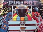 PIN-BOT Pinball Machine Original Williams  Poster From 1986-10
