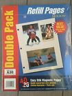 NEW Package Of Holson A20 Magnetic Easy Stik Ring Photo Safe (40) Refill Pages