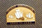 Daughters of the American Revolution DAR Columbus Quincentennial Gold Fill
