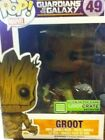 Funko POP! Marvel Guardians of the Galaxy Groot (Loot Crate exclusive GITD)