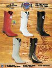 Wild West Mens XXX Toe Caiman Tail Deer Cowboy Western Boots Diff Colors