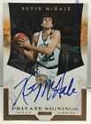 Kevin McHale 2011-12 Panini Private Signings SP on-card Autograph Auto - CELTICS