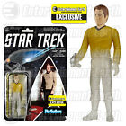 Star Trek:The Original Series Beaming Kirk ReAction 3 3 4-Inch Retro Action Fig.