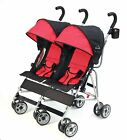 Kolcraft 2016 Cloud Lightweight Double Umbrella Stroller in Scarlet Brand New!!