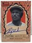 Rickey Henderson 2013 Americas Pastime Signatures GOLD on-card Auto #'d 19 25