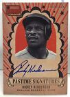 Rickey Henderson 2013 Americas Pastime Signatures on-card Autograph Auto #'d 125