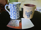 Vintage Pfaltzgraff Bicentennial Pitcher 2005 and Crock 2004