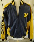MICHIGAN WOLVERINES Steve  Barrys Outfitters LIned Jacket Size Large