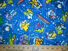 Super Heroes 12 Fabrics Sold Individually Not As A Group By The Half Yard