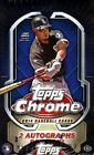 (2) BOX LOT 2014 TOPPS CHROME BASEBALL SEALED HOBBY BOXES 24 PACKS PER BOX