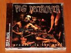 PIG DESTROYER PROWLER IN THE YARD CD *RARE* RELAPSE RECORDS 2001 JAPAN OBI LTD