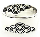 JAPANESE SEA WAVE CREST 925 STERLING SILVER RING