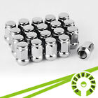 20 Chrome Wheel Lug Nuts 1 2 20 Closed End for Jeep Wrangler TJ YJ CJ JK Trucks