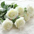 10 20 Head Real Touch Rose Flowers For wedding And Home Design Bouquet Decor