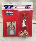 1996-STARTING LINEUP-ALLEN IVERSON ROOKIE FIGURE/CARD MISP-VHTF EXTENDED! NM