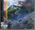 RING OF FIRE: LAPSE OF REALITY CD JAPANESE STICKER MARK BOALS TONY MACALPINE OOP