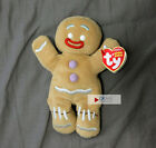 Ty Beanie Baby ~ GINGY the Gingerbread Man (Shrek the Halls Excl) cookie NEW