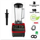 2200W 3HP 2L Commercial Fruit Smoothie Ice Blender Juice Mixer Juicer Countertop