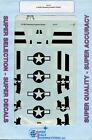 SuperScale Decals 1:72 P-51B/C Mustang Invasion Stripes #72-777