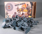 Timpo airfix German infantry  plastic vintage toy soldiers 1 32