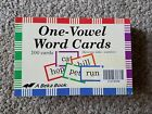 A Beka One Vowel Word Cards Phonics Reading Flashcards
