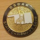 Daughters of the American Revolution DAR Oklahoma State Chairman Club Pin