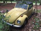 Volkswagen Beetle Classic Karmann 1971 vw bug convertible restoration project
