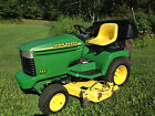 John Deere 345 48 Garden Tractor Lawn Mower Kawasaki 18HP Delivery Available