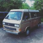 Volkswagen Bus Vanagon Westfalia Weekender 1986 vw volkswagen bus vanagon westfalia wolfsburg edition samba 23 window kombi