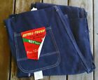 Vtg Usa Key bib overalls workwear mechanic welder construction outdoors 36x36