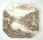Johnson Bros OLDE ENGLISH COUNTRYSIDE BROWN/ MULTICOLORED Salad Plate(s) VG